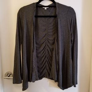A Pea in the Pod Drape Front Cardigan - size S
